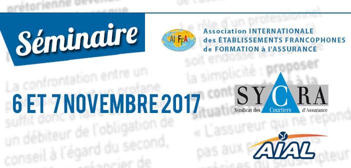 Séminaire AIEFFA les 6 et 7 novembre