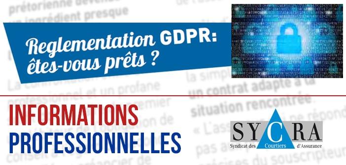 Réglementation GDPR : Êtes-vous prêts ?